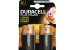 019171 - DURACELL Plus LR20 / MN1300 - 2 Pack