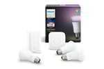 929001257361 - Philips Hue E27 Color Starter Kit - Richer Colors + Switch