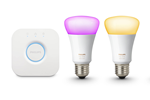 929001257307 - Philips Hue Color Starter Kit 2 x E27-Lichtquellen - Richer Colors