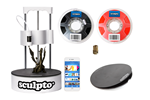 SCULPTO_BUNDLE - Sculpto + (including Powergrip Gear Buildplate Pro & 1kg Red Filament) - 3D Drucker -