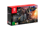 0045496453381 - Nintendo Switch With Joy-Con - Grey - Monster Hunter Rise