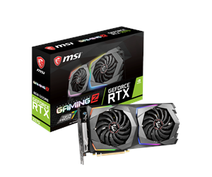 RTX 2070 GAMING Z 8G - MSI GeForce RTX 2070 GAMING Z - 8GB GDDR6 RAM - Grafikkarte