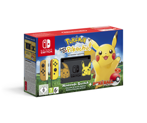 2500466 - Nintendo Switch Pokemon: Let´s Go Pikachu! Limited Edition