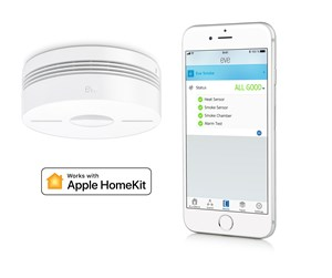 10EAP1701-3X - Eve Smoke 3pack - Connected Smoke Detector for Apple HomeKit